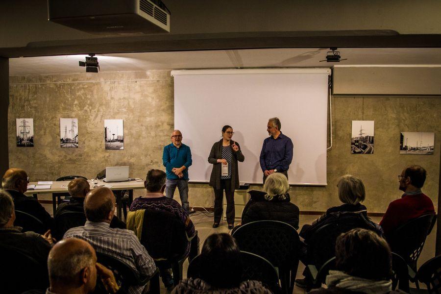 Da sinistra:  Roberto Vera - Claudia Sala - Michele Fedelino
