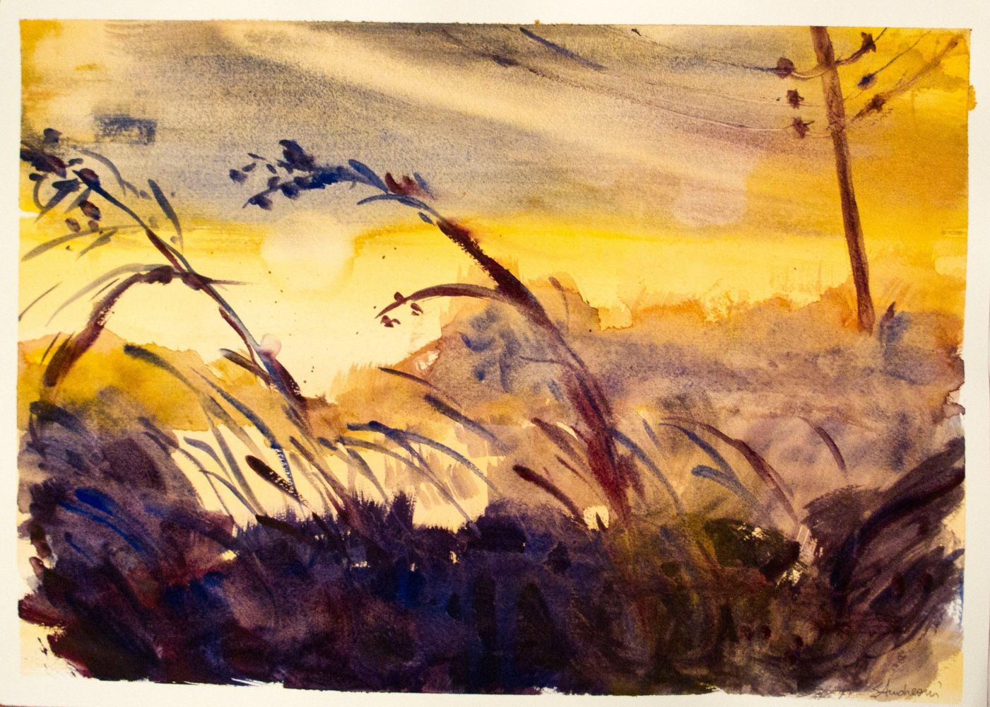 Paesaggio ( acquerello )