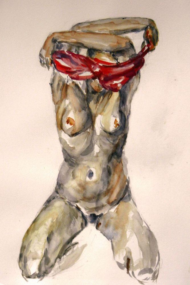 Nudo ( acquerello )