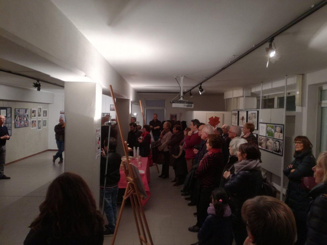 Il pubblico durante la presentazione