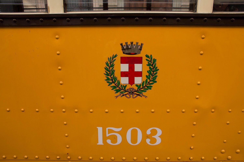 Tram 1503. Tram storico tipo 1928, prima vettura della serie di 500 pezzi dopo i prototipi 1501 e 1502. (Foto Longhi)