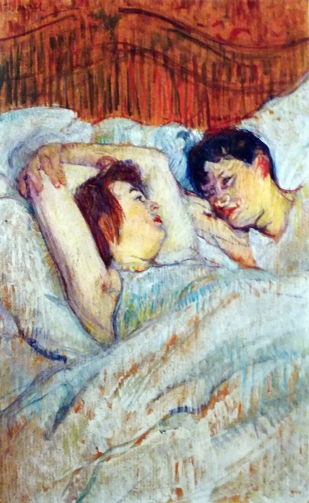 A letto - 1892
