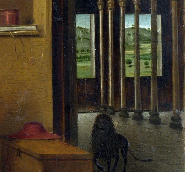 Studio di San Girolamo - particolare