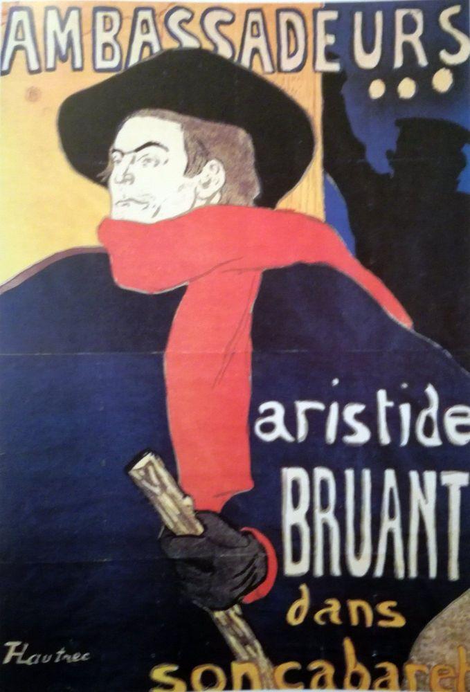 Aristide Bruant - 1893