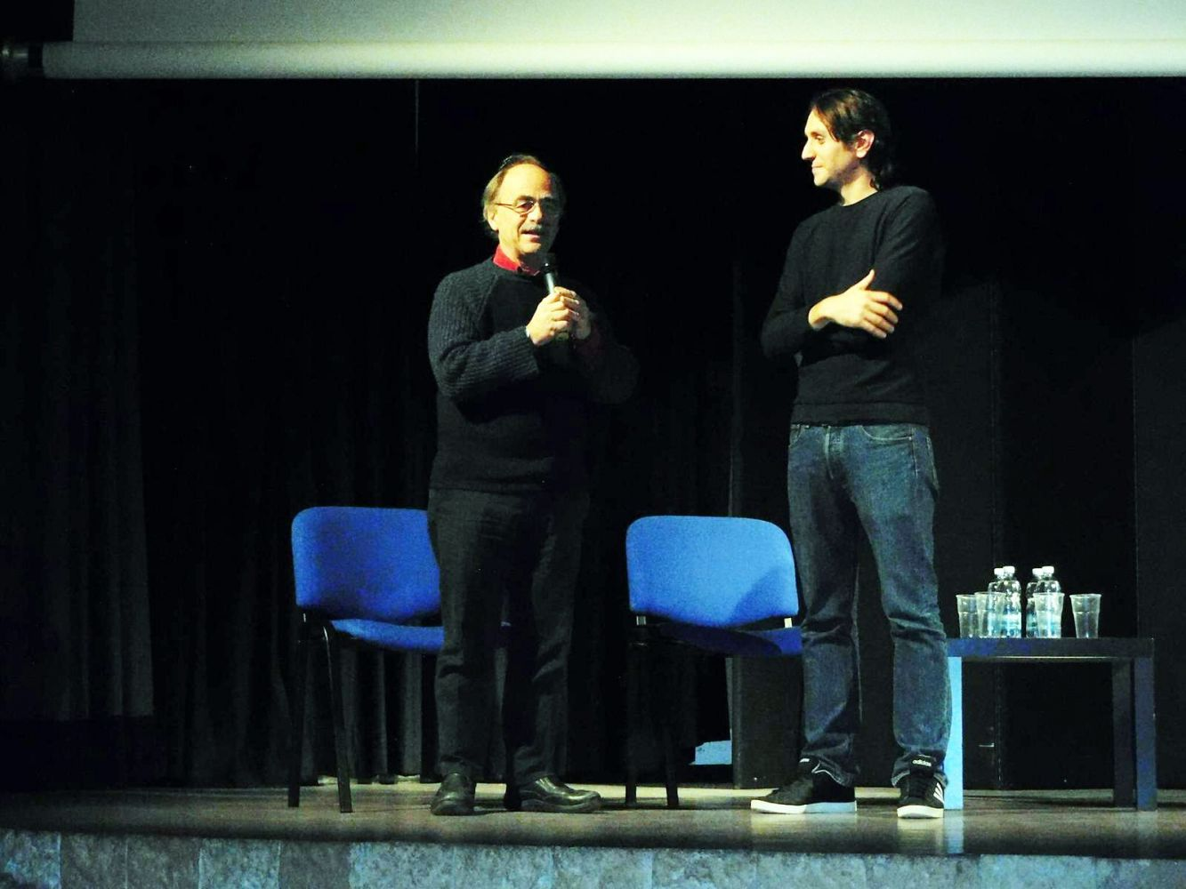 Soranna con Maurizio Nichetti