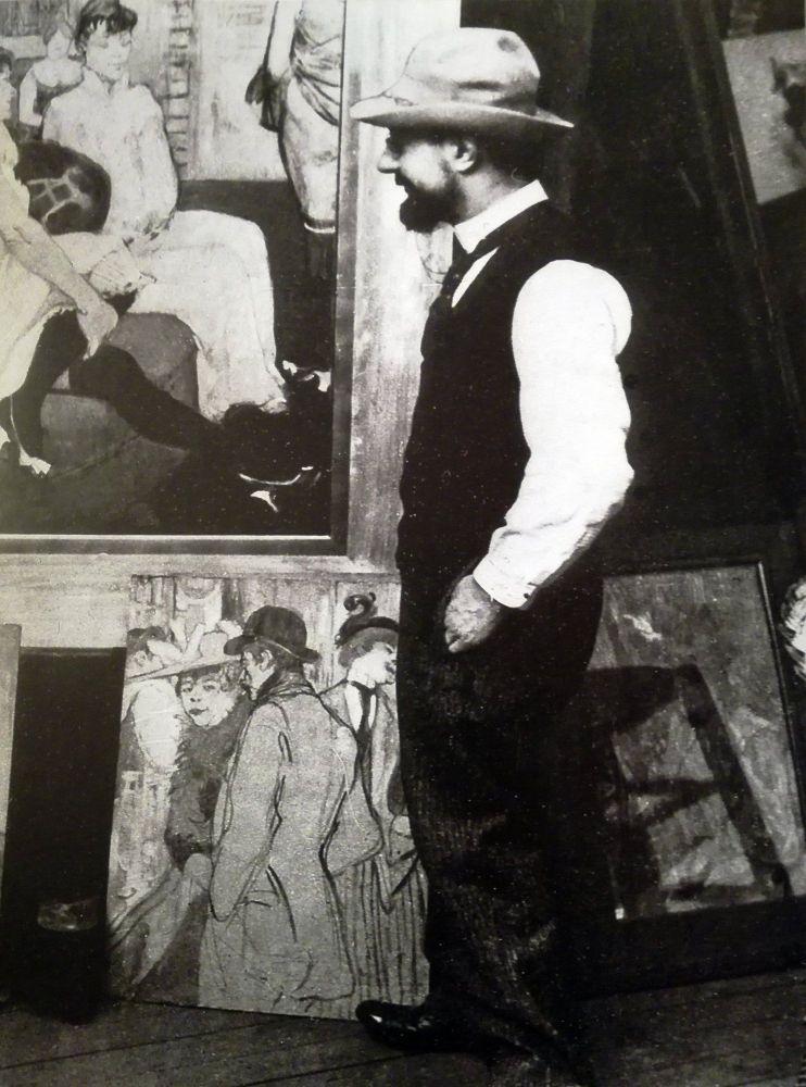 Henry in una foto del suo amico fotografo Maurice Joyante