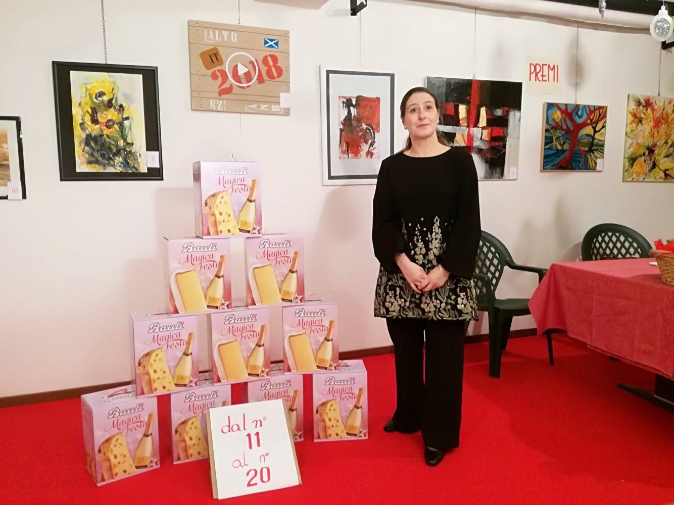 Claudia Sala - presidente del Circolo Amici dell'Arte