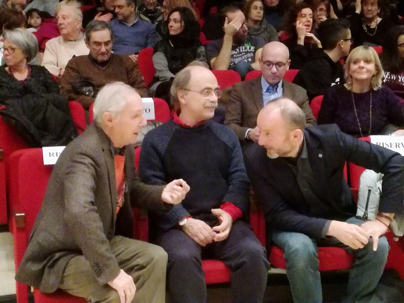 Bruno Bozzetto, Maurizio Nichetti e Pautasso