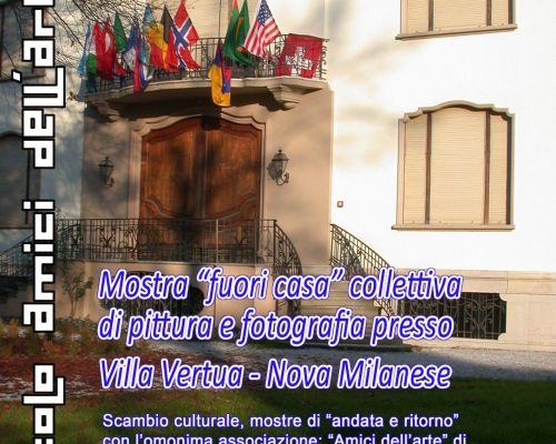 """Mostra """"fuori casa"""" Villa Vertua Nova Milanese"""