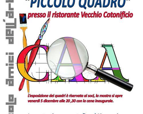 Inaugurazione PICCOLO QUADRO