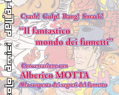 Alberico Motta: il fumetto