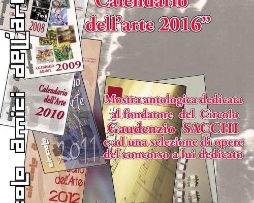 Presentazione calendario dell' arte 2016