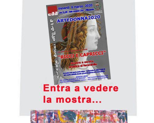 Artedonna 2020 - La mostra è aperta ...