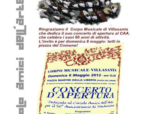 GRAZIE al Corpo Musicale di Villasanta che festeggia i nostri 50 anni!