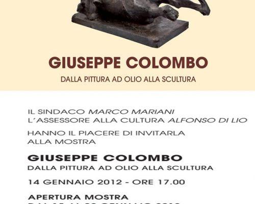 Mostra di Giuseppe Colombo