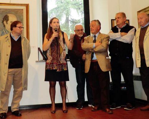 """Inaugurata la mostra """"CAA 50 anni di arte e cultura"""""""