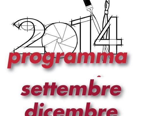 Programma attività settembre/dicembre 2014